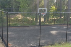 10' Black Chain Link Fence