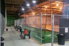 8' Galvanized Chain Link Fence Batting Cages