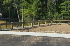 Pressure Treated Guard Rail