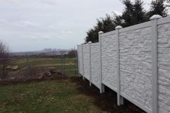 Symptek Ecostone Vinyl Fence