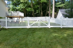 Silverbell Scallop Fence