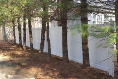 6' Dogwood Haven Series White Vinyl Fence