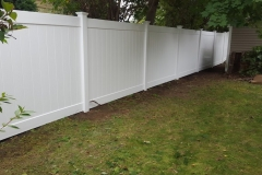 6' Dogwood Home Series White Vinyl Fence