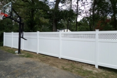 Arrowwood Haven Series Vinyl Fence