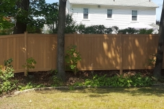 Cypress Color Dogwood Vinyl Fence