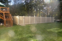 Dogwood Harmony Series Vinyl Fence